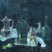 Still life with jugs. 1993. N. Dokunikhin