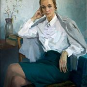Teacher L.I. Baulina. 1974