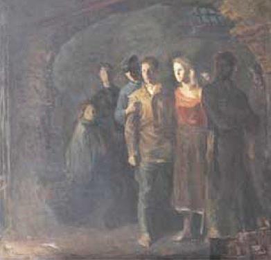 V.B. Pantashenko. Partisans. 1980