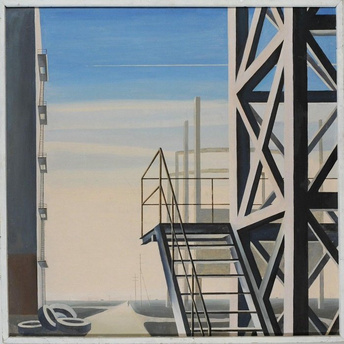 V.D. Kuznetsov. Silence. 1977
