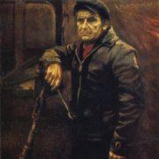 V.E. Opmanis. Plowman Svetinsh, holder of the Order of the Red Banner of Labor. 1978