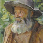 V.Ya. Gonchar. Monk. 1975. Oil on canvas