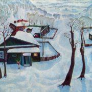 VN Yefimov. Snow. 1973