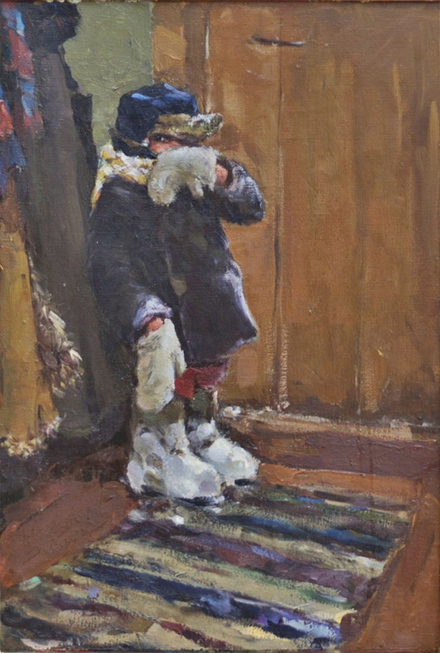 Viktor Petrovich Kozlov (1931-1993). After walk. 1961