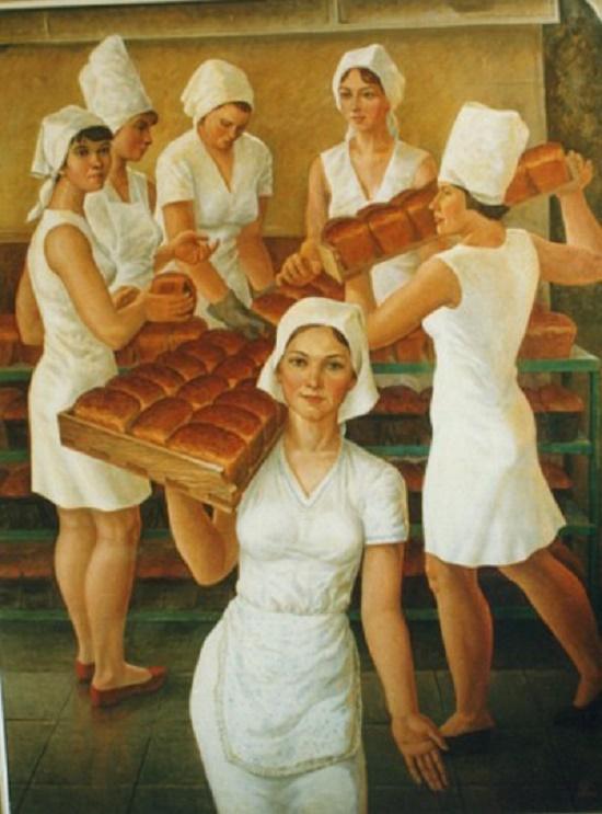 Viktor Starostin (1937-99). Bakers