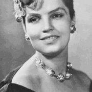 Vintage actress of USSR Dzidra Ritenberga