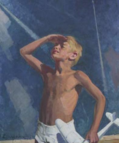 Vladimir Alexeyevich Stanevich (1925). Under the peaceful sky. 1978