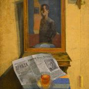 Vladimir Malagis (1902-1974). To the death of Clara Zetkin. 1933