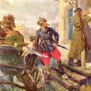 Yu. Abramov, N. Rashchektayev. To the front