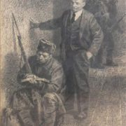 A soldier and Lenin. 1965