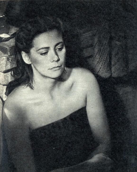 As Natasha in 1980 film Sergeant major