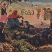 Grape harvest. Zuhur Nurjanovich Habibullaev (1932-2013)