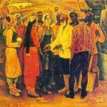 Gallery of paintings by Soviet Tajik artists