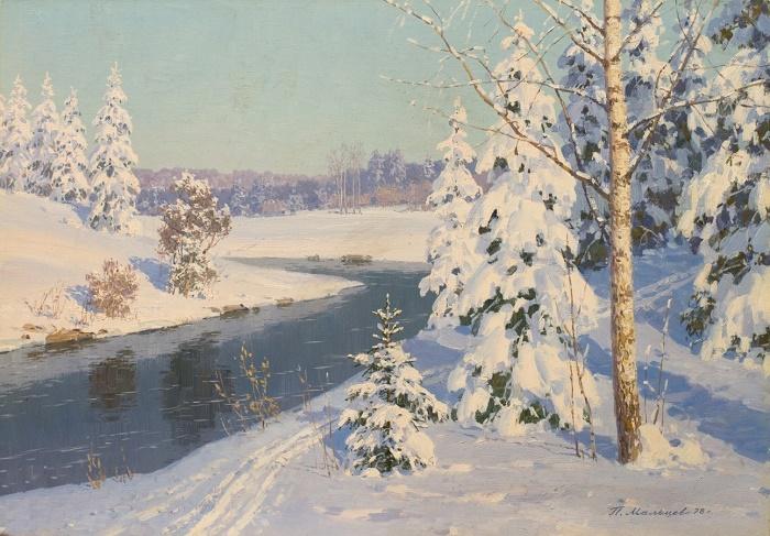 Russian winter. 1978