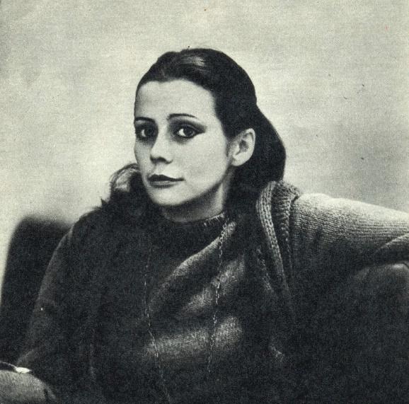 Theater actress Natalia Saiko