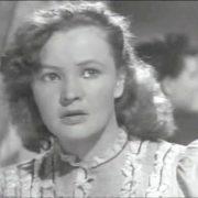 Actress Vera Altayskaya in Big Land. 1940
