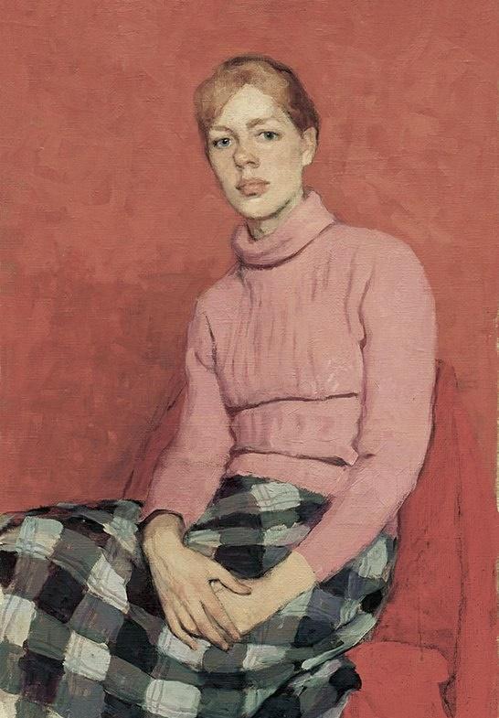 Artist Natasha Ziva. 1983