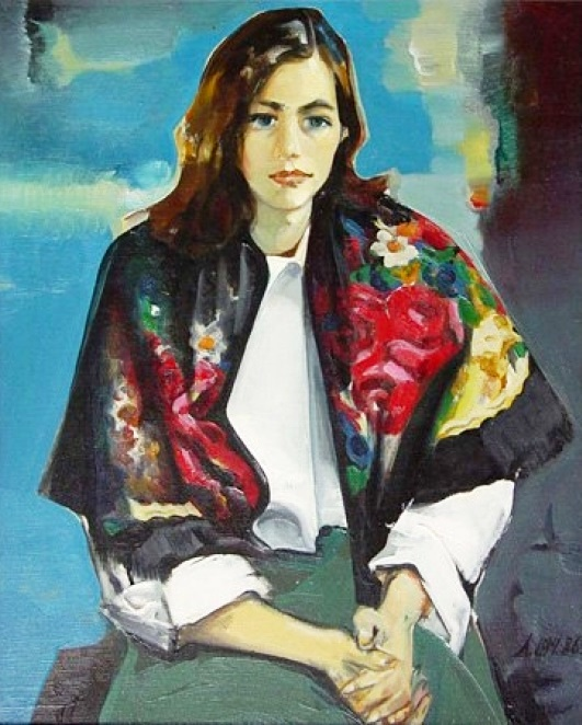 Beautiful girl's portrait