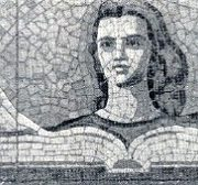 Book - memory of humanity. Mosaics of smalta in the Library