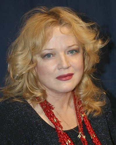 Cinema and theater actress Natalya Egorova