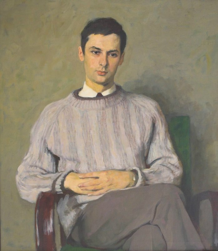 Doctor M.S. Nikolayevsky, portrait. 1972