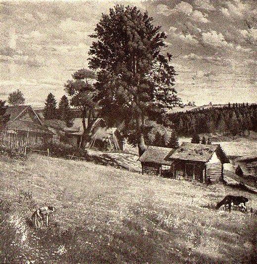 Flowering meadow. 1947