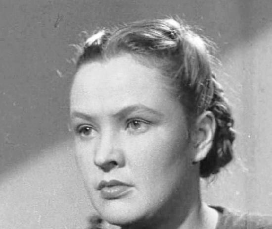Soviet Russian actress Vera Altaiskaya 1919-1978