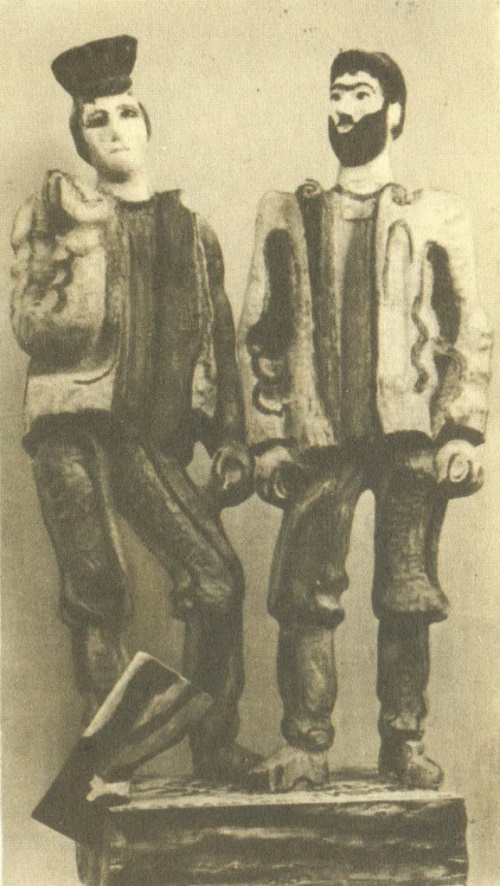 Pereyaslav carpenters. Painted Wood