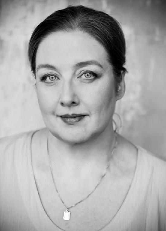 Russian actress Elena Bushueva. Photographer Maria Terr