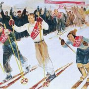 Soviet artist Ekaterina Sergeevna Zernova