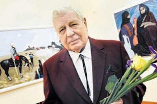 Soviet Belarusian artist Leonid Dmitrievich Schemelev
