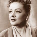 Soviet Russian actress Marianna Vertinskaya