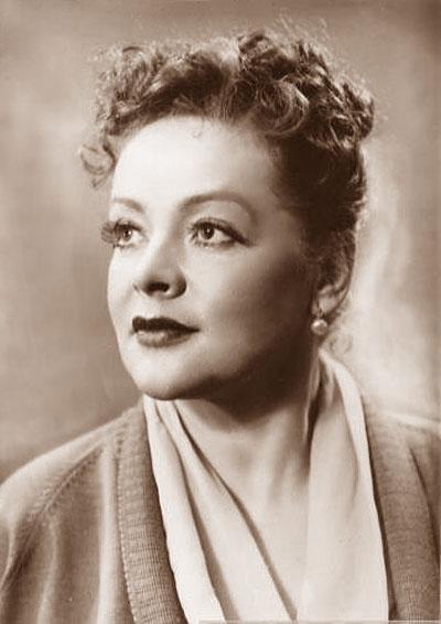 Soviet actress Zoya Fyodorova