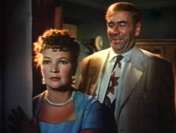 The Bridegroom from the Other World, 1958. Vera Altaiskaya and Rostislav Plyatt