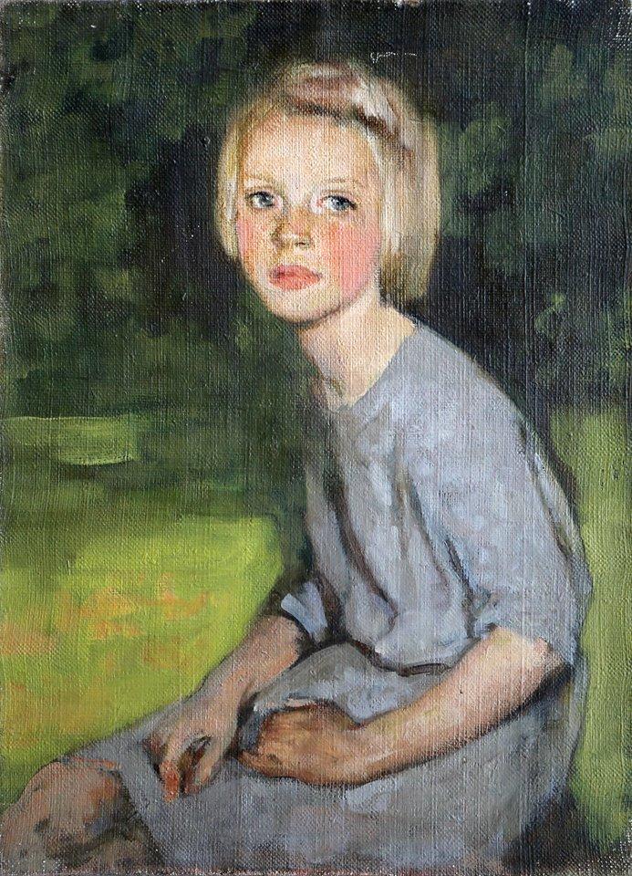 Village girl. 1954