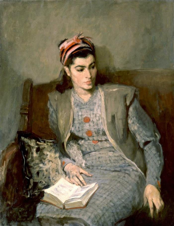 Wife's portrait. 1945