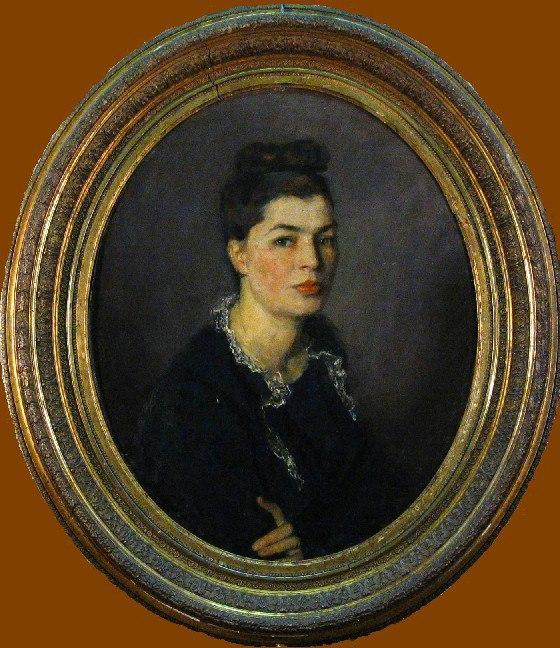 Wife's portrait. 1953