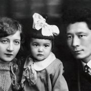 Little Kyunna with her parents