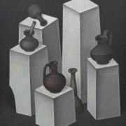 Composition with vases and jugs. 1967