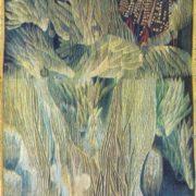 'Frostmourne of war years'. Hand weaving. 1980. Danute Kvetkyavichute