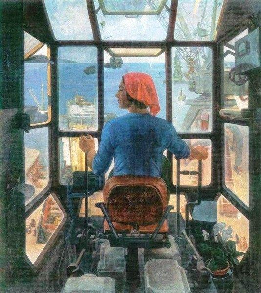 Soviet artist Rudolf Nikolaevich Baranov