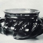 OI Kozlova (born 1942 Gus Crystal). 'Elegy' Vase. 1976. Color Crystal