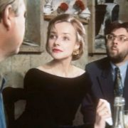 Scene from the film 'Russian business'. 1993