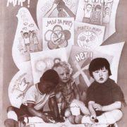 V. Ermolaev, Yu Zharov. We need peace. Poster 1985