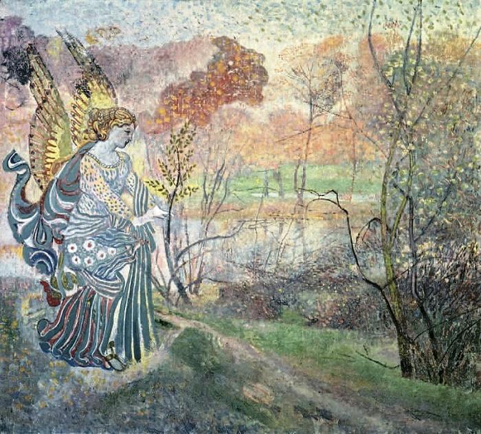 Angel of spring. 1986