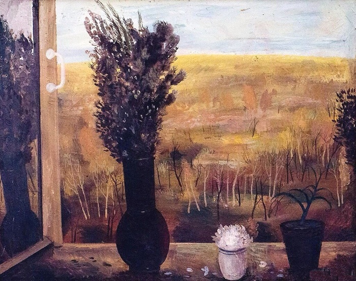 Autumn still life. 1979. Oil