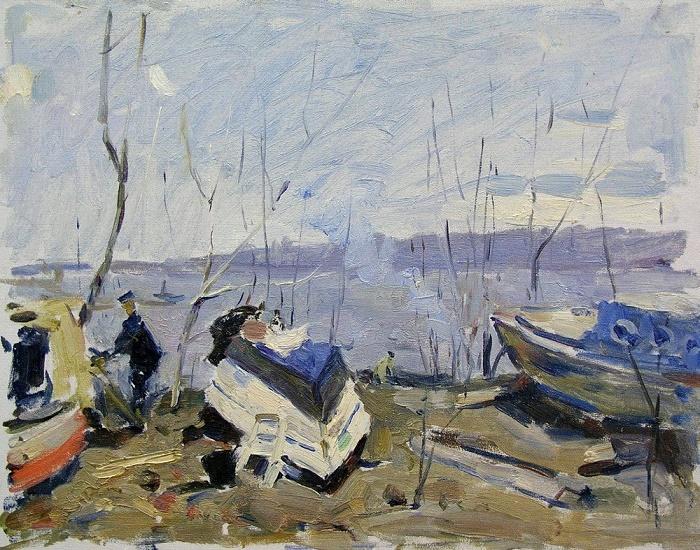 Boats. 1980