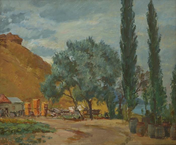 Cloudy evening. Crimea. 1938. Belgorod art museum