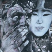 Self-portrait with Zun Ko Li