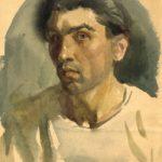 Front-line drawings of Soviet artist Vitaly Davydov